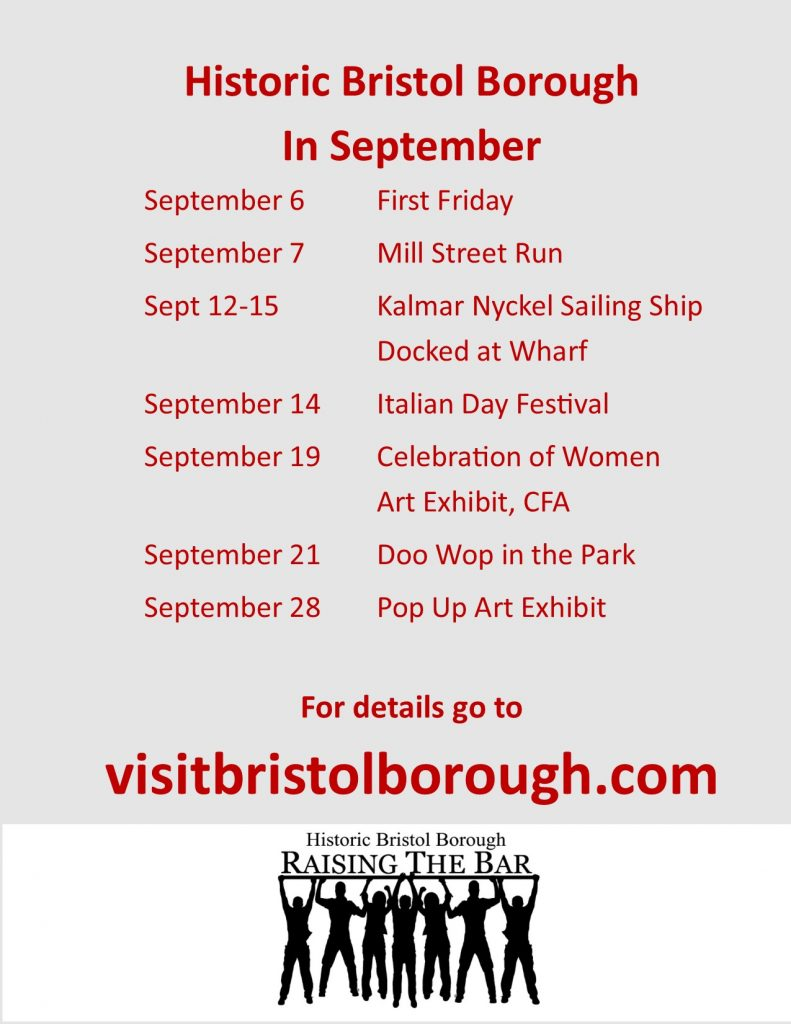 Bristol Borough September 2019 Events